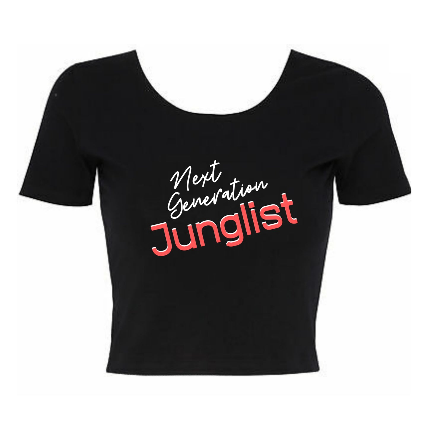 Next Generation Junglist Cropped TShirt
