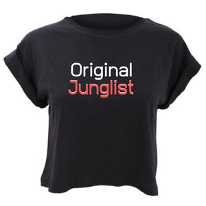 Original Junglist Cropped TShirt Loose Fit