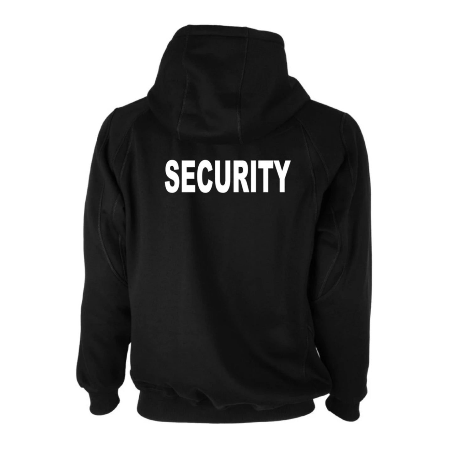 Security Hoody Front & Back Print - Workwear