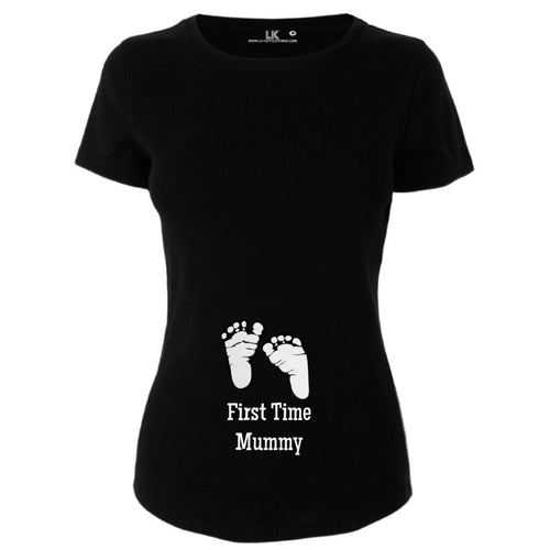 Ladies First Time Mummy T/Shirt For Mum