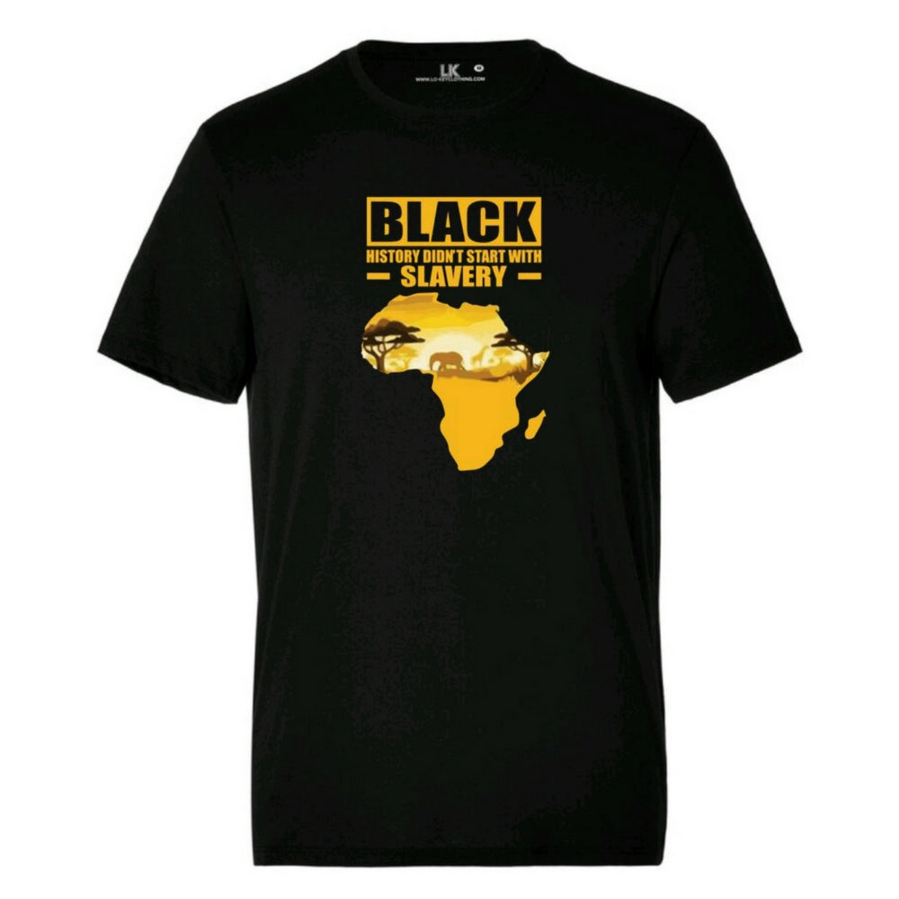 Men's Black History Didn't Start With Slavery T/Shirt
