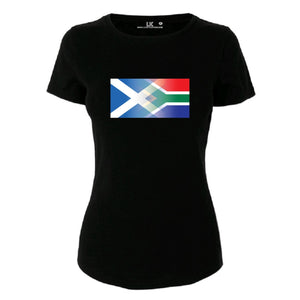 Scotland and South Africa tee