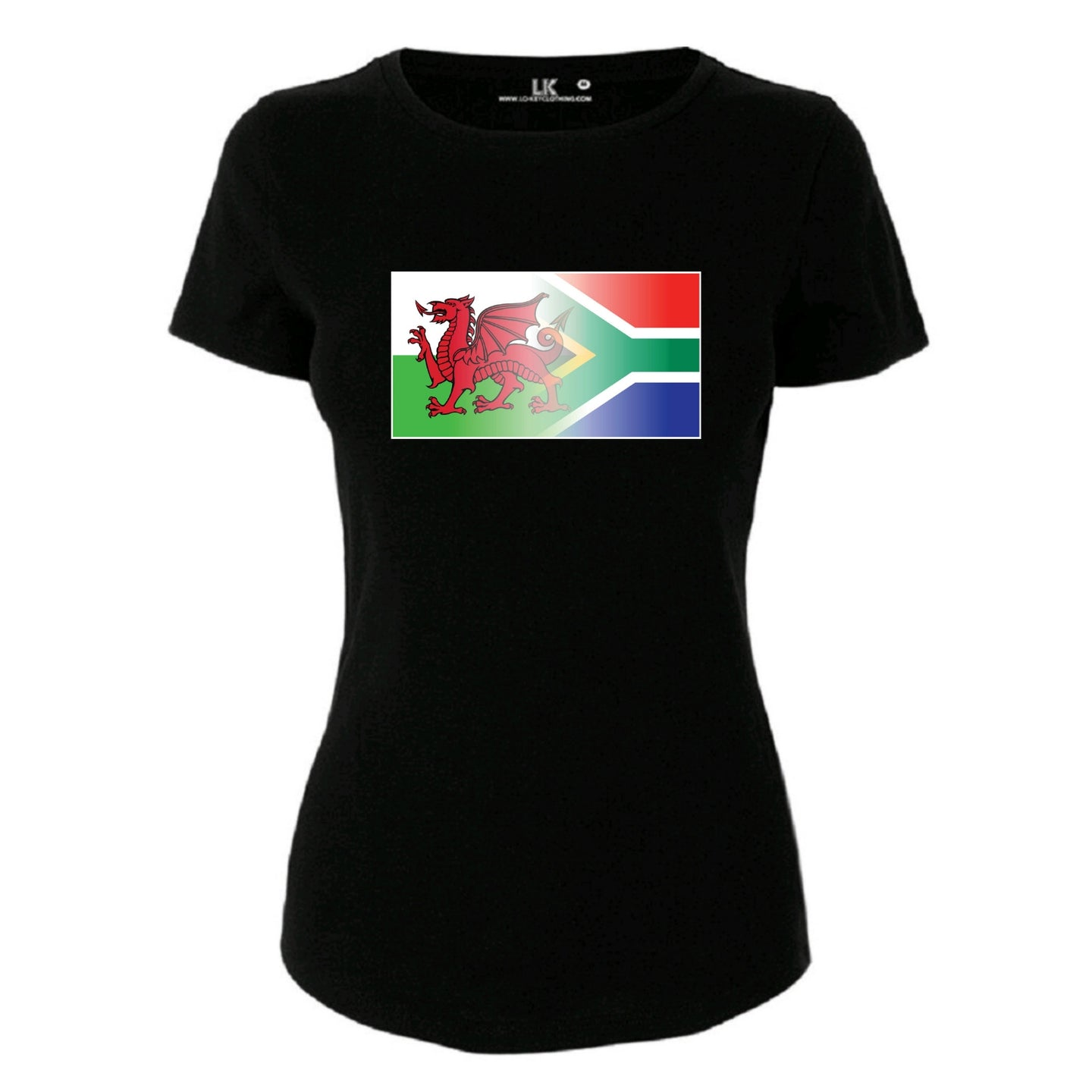 Welsh & South Africa Flag Blend TShirt