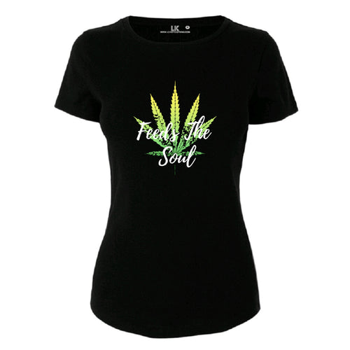 Herb Feeds The Soul Womens TShirt