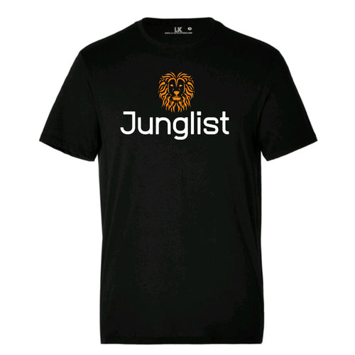 Junglist mens drum and bass tee