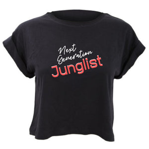 Next Generation Junglist Cropped TShirt Loose Fit