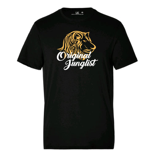 Original Junglist Lion mens tee
