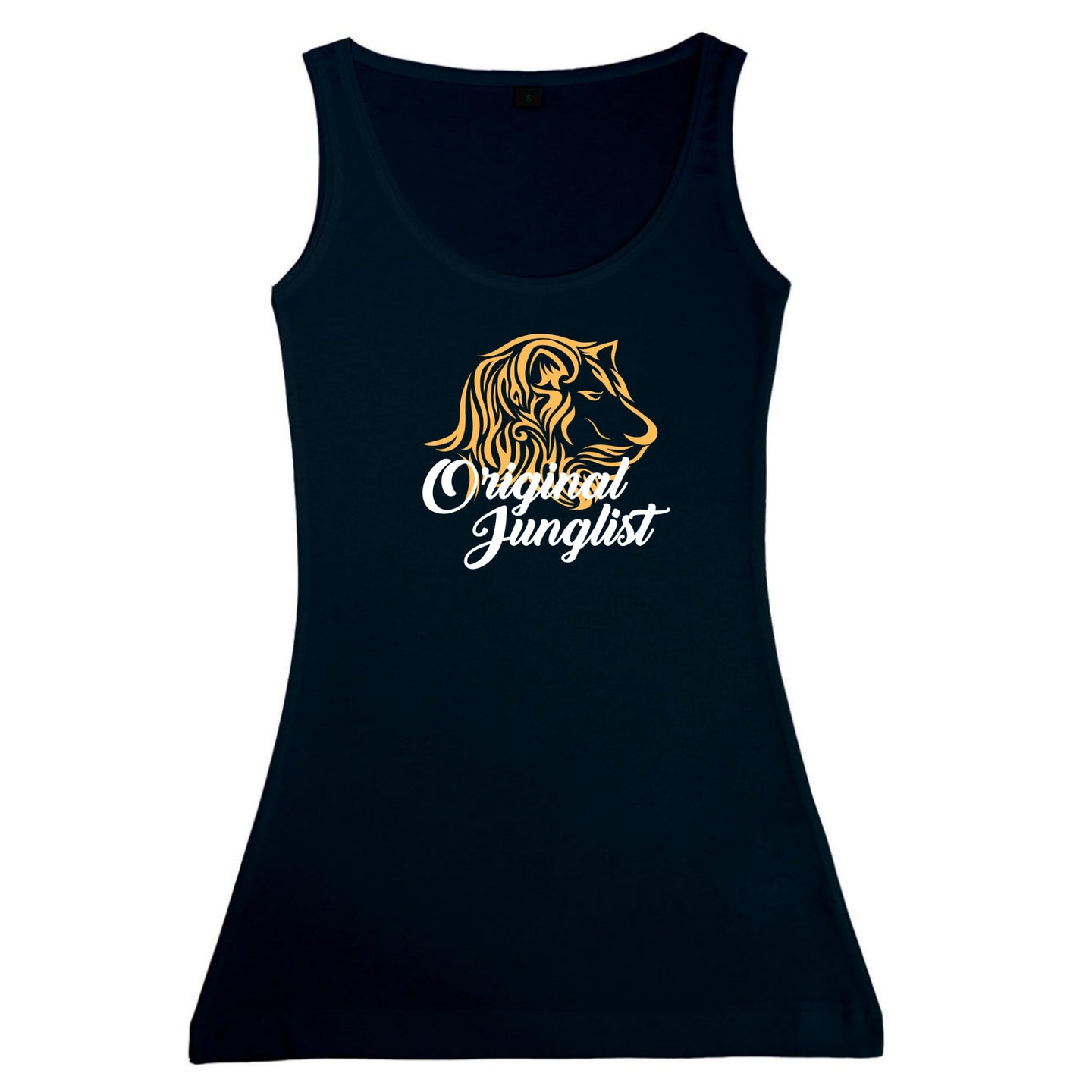Original Junglist Lion Vest Ladies Drum and Bass Tshirt