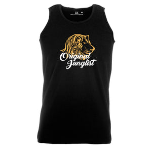 Original Junglist Lion tank top mens