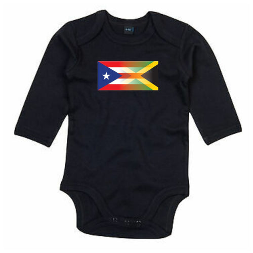 Mixed Heritage Flag Long Sleeve Babygrow