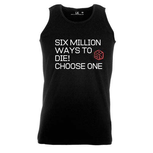 Six Million Ways tank top mens drum and bass junglist tee