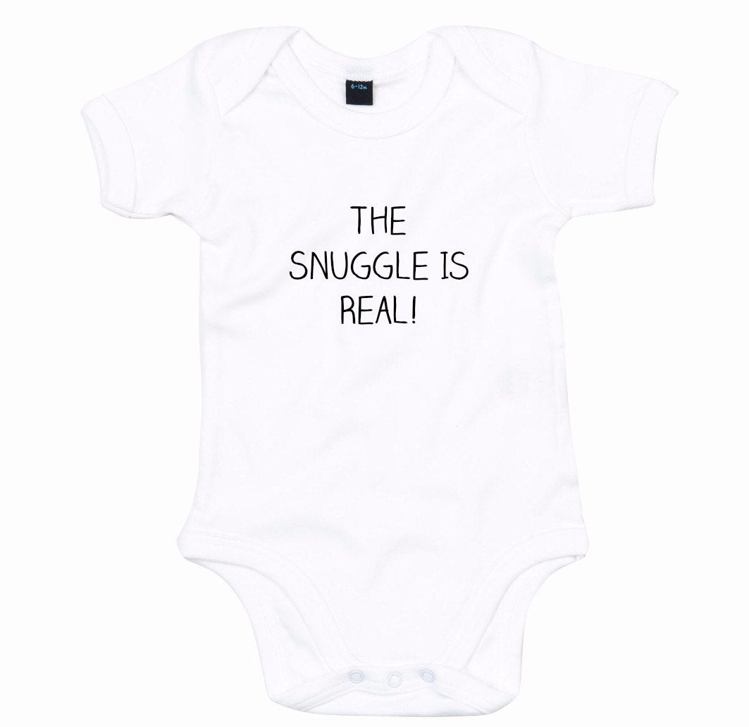 The Snuggle Is Real Babygrow