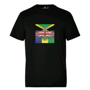 Men's UK, Jamaica & St Vincent Flag TShirt