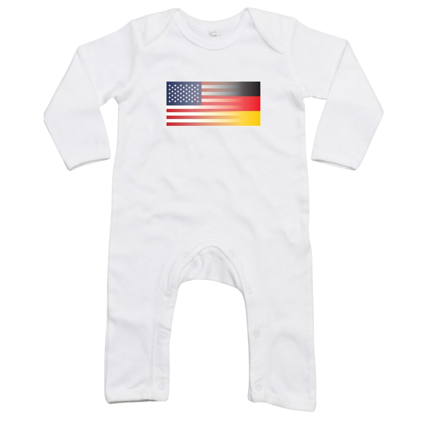 Mixed Heritage Flag Romper Suit - Baby Pajamas