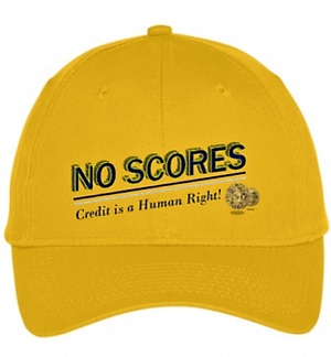 """No Scores"" Cap (Gold)"