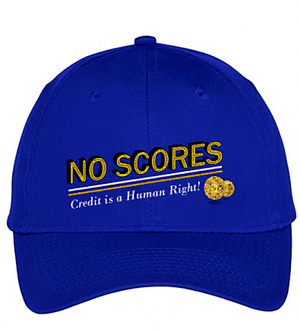 """No Scores"" Cap (Royal)"