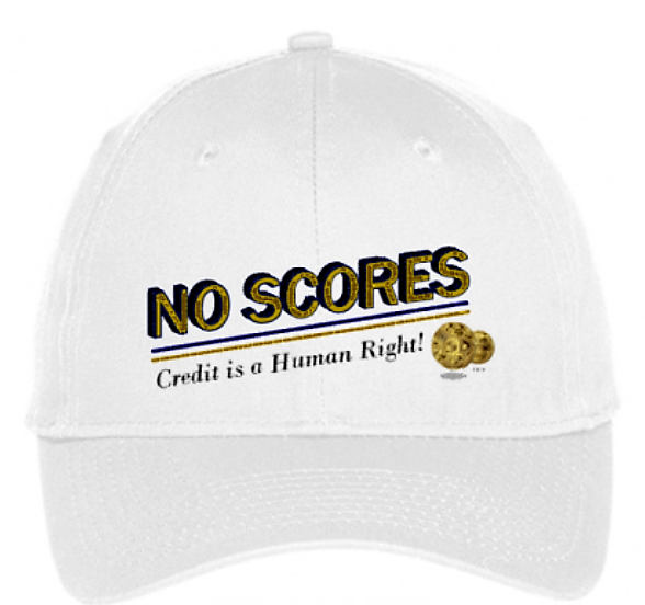 """No Scores"" Cap (White)"