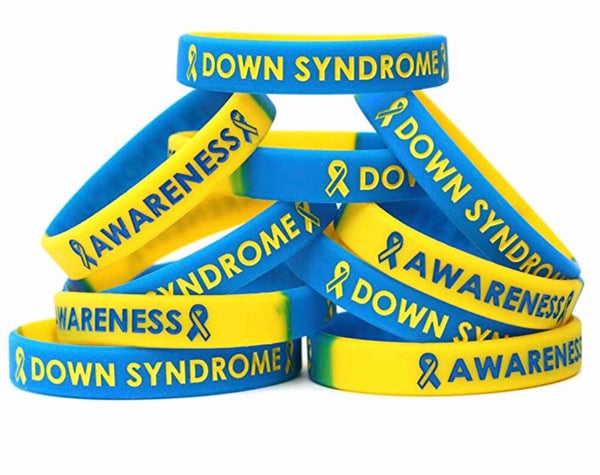 Down Syndrome Awareness Silicone Bracelet