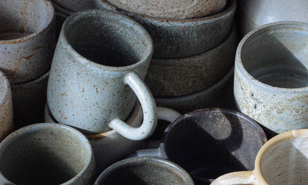 Natural rustic ceramics by Era