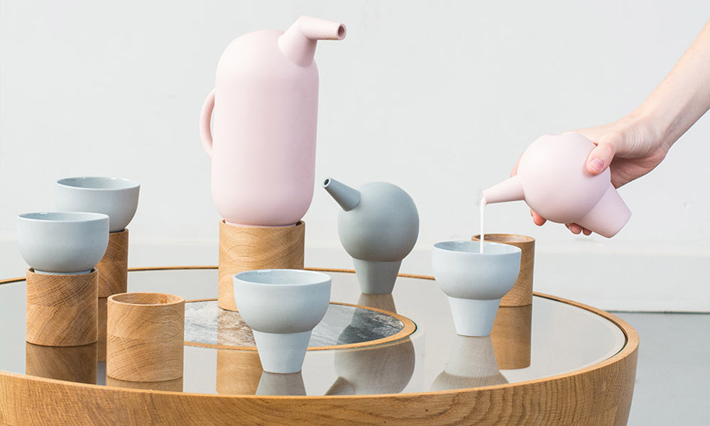 Roxanne Flick's modern and minimalist tea range