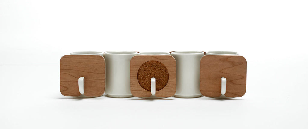 Hsin Lin FIN Stacking Tea Cups design