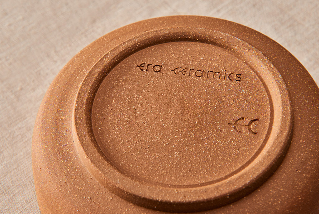 era handmade ceramics pottery stamp