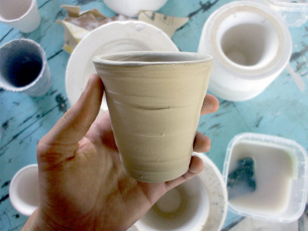 Informal Tea Cups Handmade in Tauranga New Zealand
