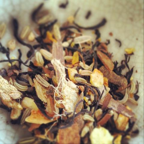 organic loose leaf chai tea hand blended