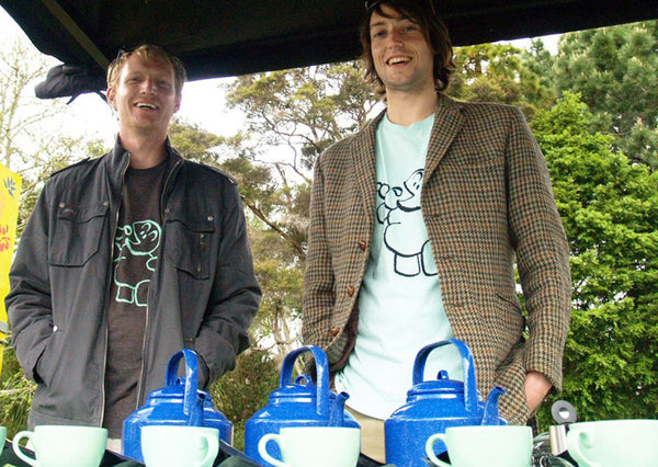 Chris and Tim from Informal Tea at the Waitakere Festival 2012