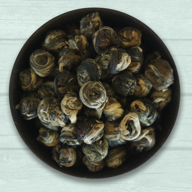 informal tea organic jasmine dragon pearl