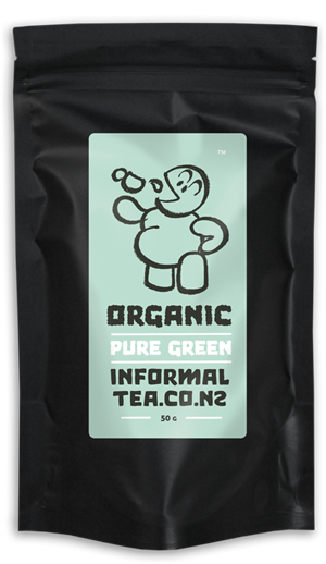 informal tea packaging