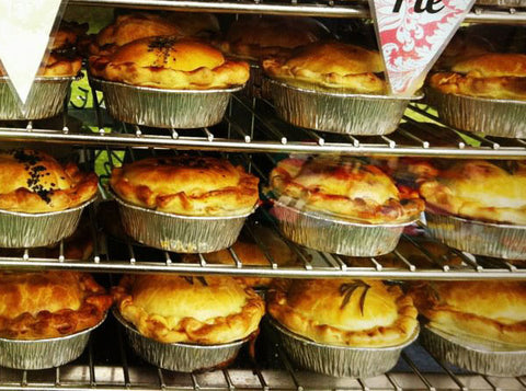 gourmet pies at the little big markets
