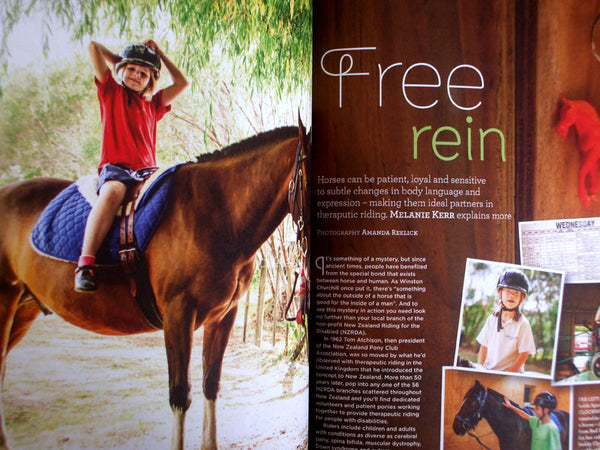 riding for the disabled in good magazine