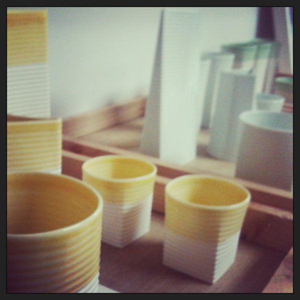 sarah backler ceramic porcelain cups
