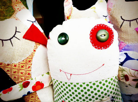 stuffed toys at the little big markets