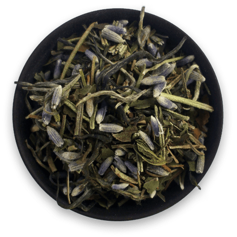 Informal Organic Fresh Mint Tea blended with Spearmint, Peppermint, Rosemary and Lavender