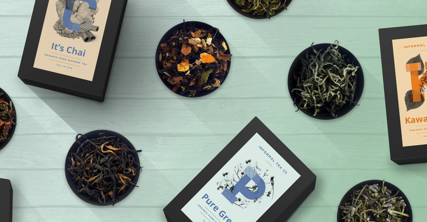 New zealand brands of tea - Informal Organic Tea Co New Zealand