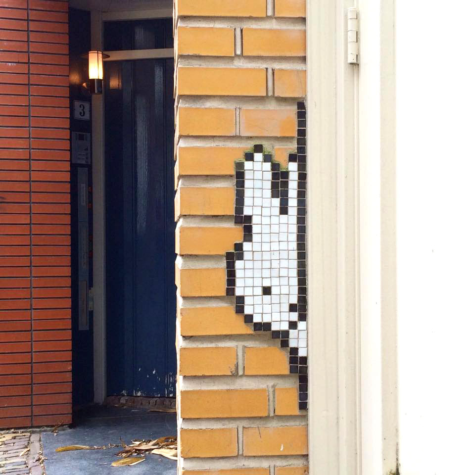 Miffy Mosaic tiles in Utrecht