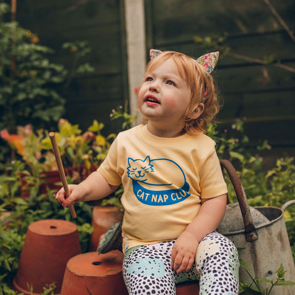 Cat Nap Club Baby T-shirt - hello DODO