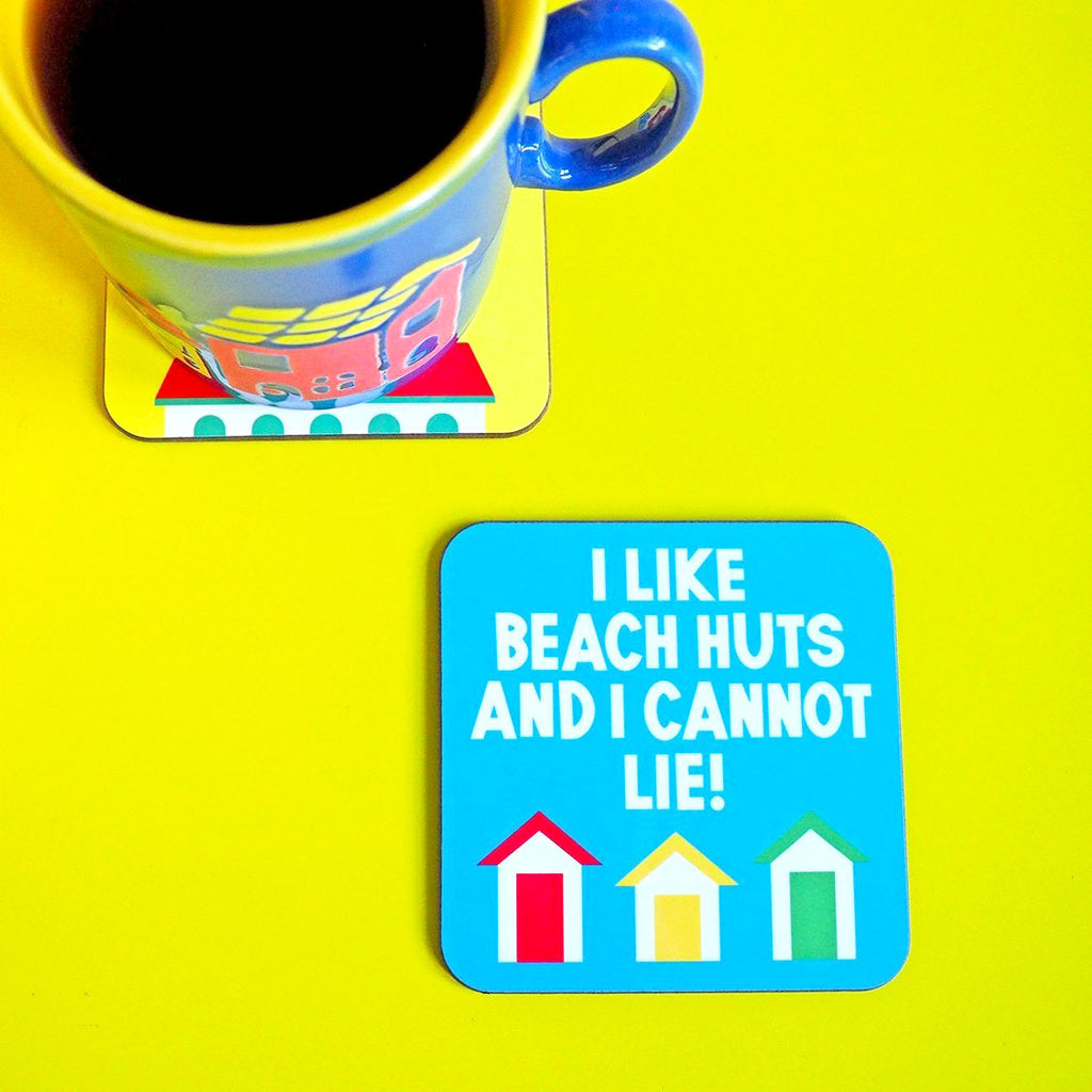 Beach Huts Coaster - hello DODO