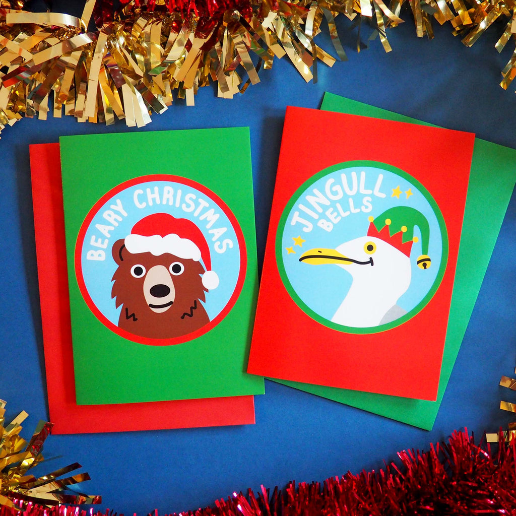 Christmas Card Mixed Pack of 6 - hello DODO