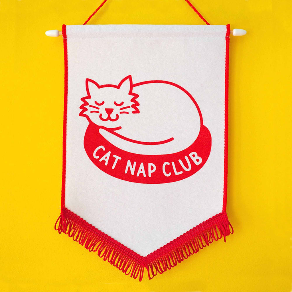 Cat Nap Club Pennant Flag - hello DODO
