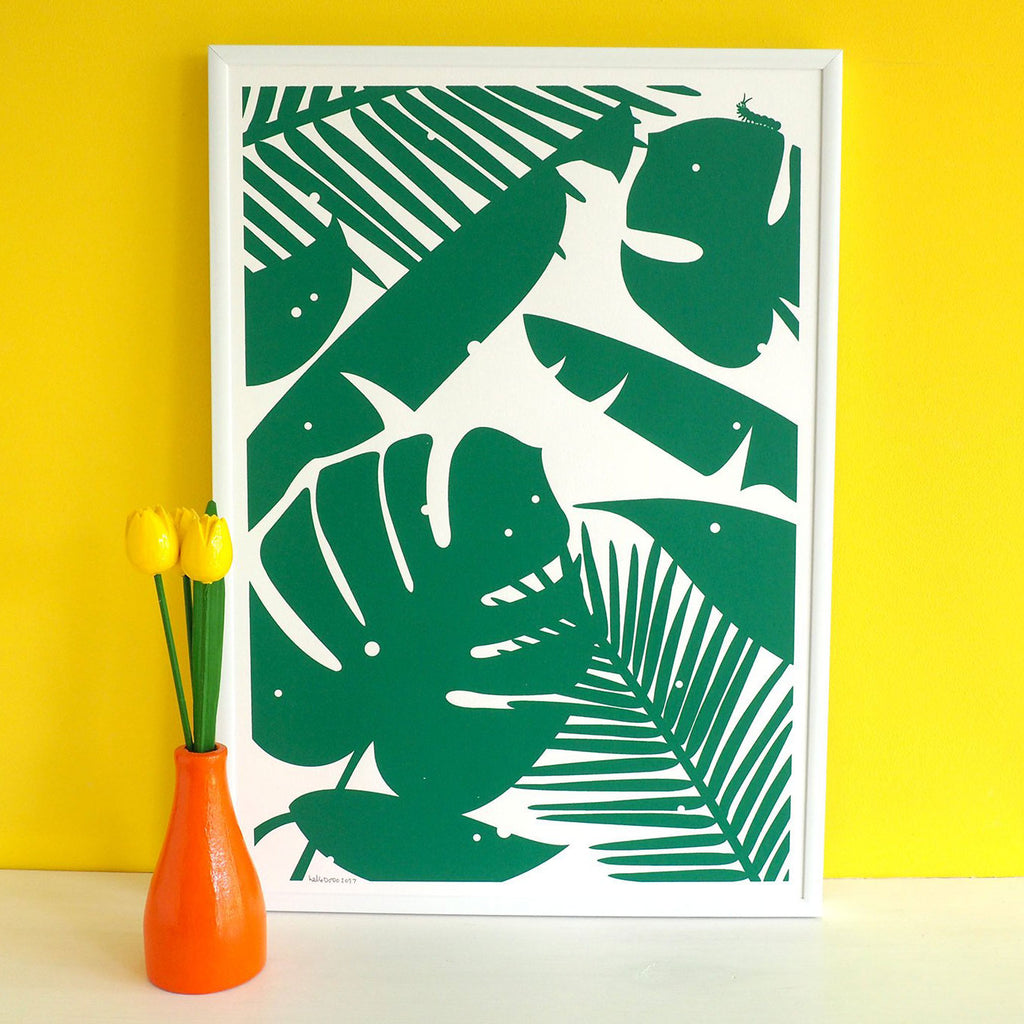 House Plant Screenprint - hello DODO