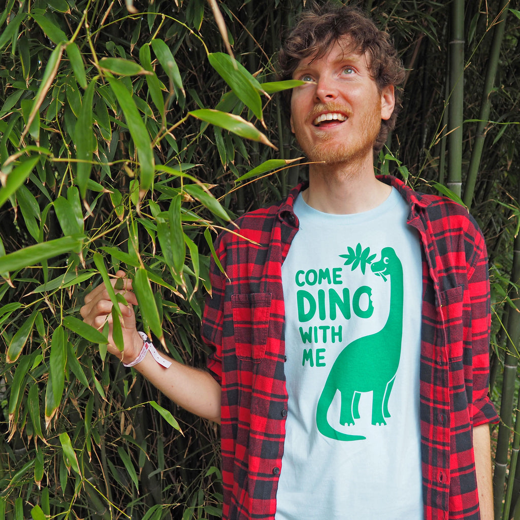 Come Dino With Me Unisex T-shirt - hello DODO