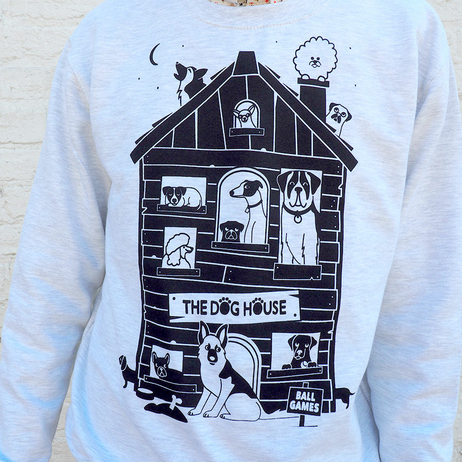 The Dog House Unisex Sweatshirt - hello DODO