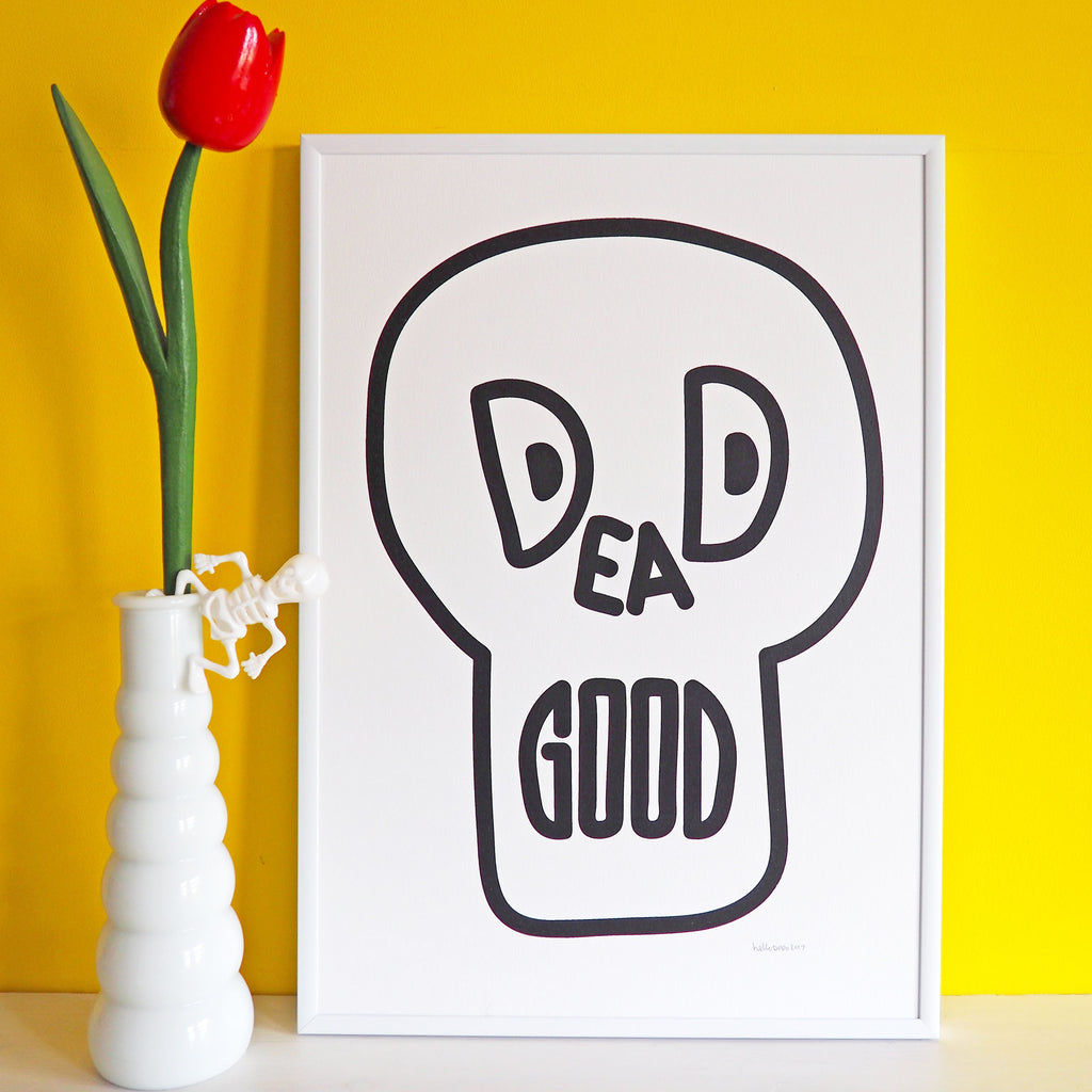Dead Good Screenprint - hello DODO