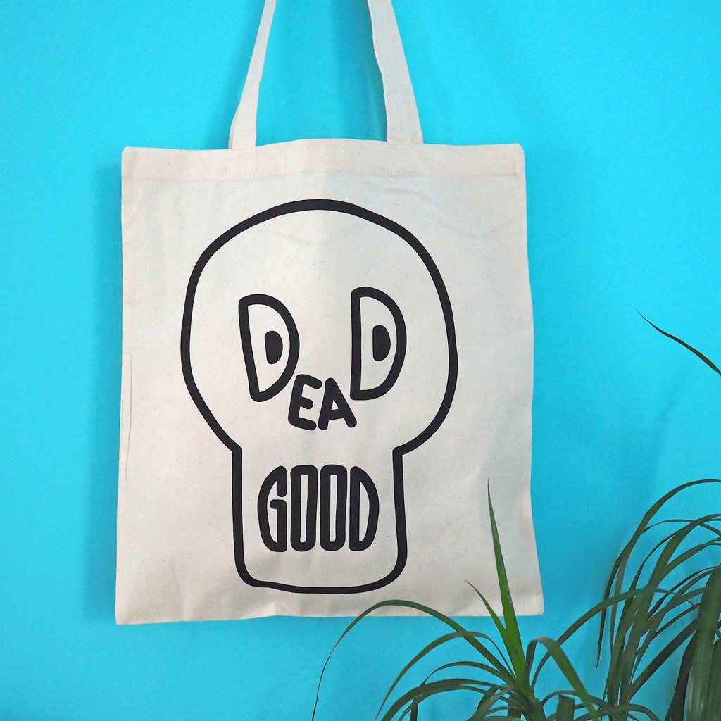 Dead Good Tote Bag - hello DODO
