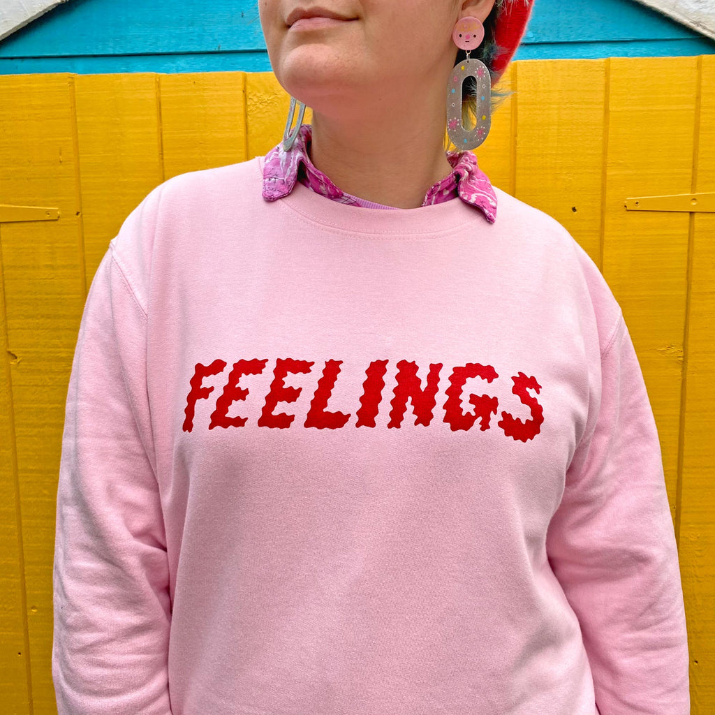 Feelings Unisex Sweatshirt