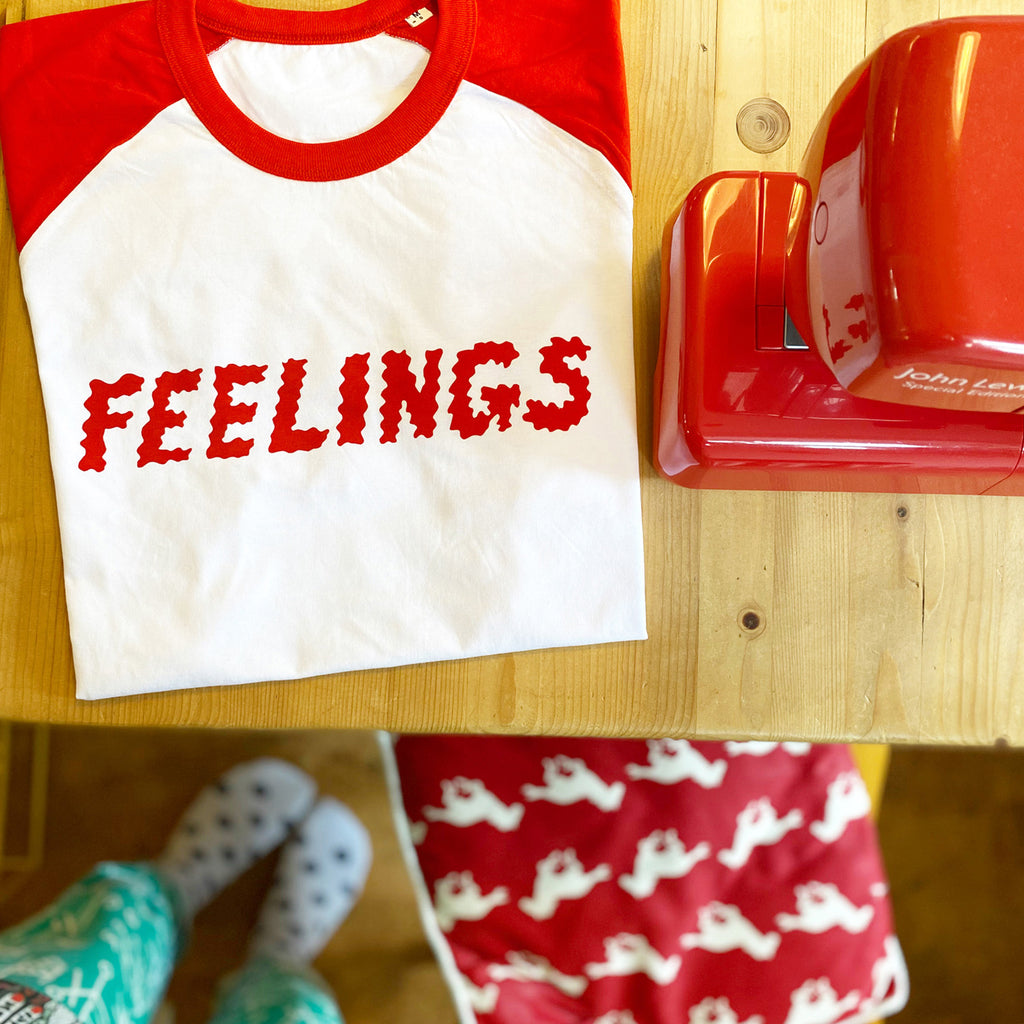 Feelings T-shirt PREORDER - ALLOW UP TO 7 DAYS FOR SHIPPING - hello DODO