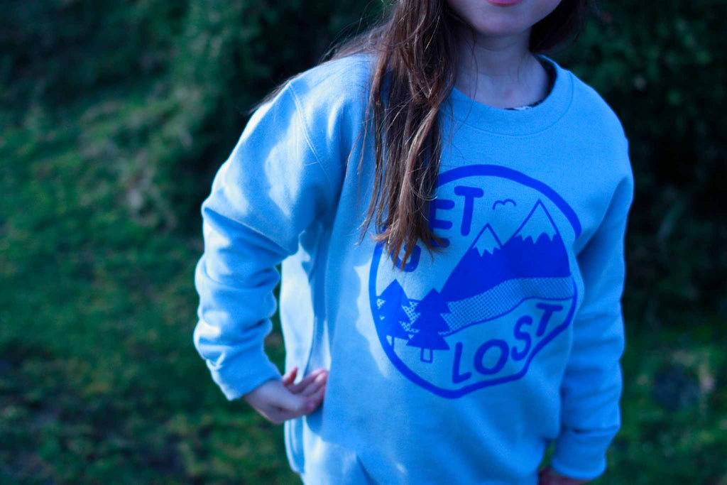 Get Lost Kids Sweatshirt - hello DODO